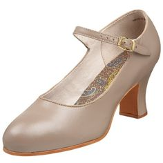 $66.78-$166.95 Capezio Women's 828 Professional Footlight Theatrical Shoe,Tan,9.5 N US -  http://www.amazon.com/dp/B002COI9GE/?tag=icypnt-20