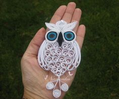 Owl always love you Paper Quilling Owl in a by NavankaCreations