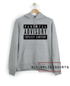 Parental Advisory Explicit Content Hoodie for Mens, Womens or for teens High Hoodie is great for anyone who enjoyed the show and it's a cool option for a casual Hangout. Parental Advisory, Hoodies, Sweatshirts, Cosplay Costumes, How Are You Feeling, Minimalist, Parenting, Teen, Content