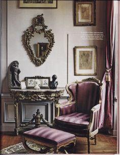 Lavender Louis Xvi Corner