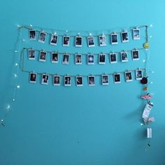 Hanging Polaroids Hanging Polaroids, Uni, Photo Wall, Homes, Frame, Room, Home Decor, Picture Frame, Bedroom