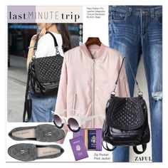 """""""Last Minute Trip"""" by paculi ❤ liked on Polyvore featuring Royce Leather, Via Spiga and lastminutetrip"""