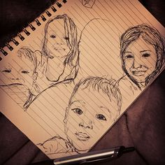 Art 2017 of my nieces and nephews #drawingwithpen