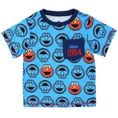 7f20db2bf0 Sesame Street Toddler Boys Short Sleeve Tee Boys T Shirts