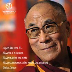 Sigue las tres R... (Dalai Lama)