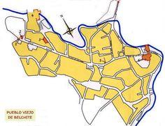 Plano Belchite