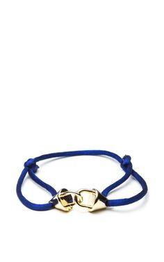 Interlocking Cone Tension Bracelet by Eddie Borgo for Preorder on Moda Operandi