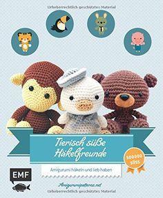 Amigurumi manuals (free) from heimwerker.de - Do It Yourself Chewbacca, Diy Toys Sewing, Crochet Dolls, Knit Crochet, Paper Flower Tutorial, Knitting For Kids, Amigurumi Toys, Craft Videos, Handmade Toys