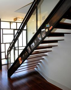 metal stair stringers hardwood floors window pendant floating treads contemporary design of Cool Metal Stair Stringers to Get Stair Stringer Design Ideas From