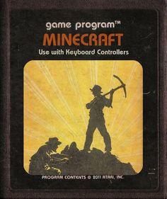 Modern Games as Atari Cartridges: Minecraft
