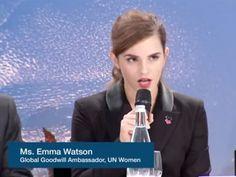 Emma Watson tem se mostrado uma grande defensora dos direitos pela igualdade de gênero, há alguns meses, ela fez um discurso emocionante sobre o tema. Agora ela surpreendeu novamente.