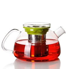 <3 Glass Teapot With Infuser