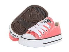 Converse Kids Chuck Taylor® All Star® Ox (Infant/Toddler) Cute Baby Shoes, Baby Girl Shoes, Cute Baby Clothes, Girls Shoes, Kid Shoes, Baby Girl Fashion, Toddler Fashion, Toddler Outfits, Toddler Shoes