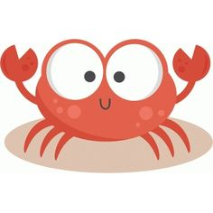 Daily Freebie Miss Kate Cuttables--Crab SVG cutting files for scrapbooking ocean svg cut files ocean svg cuts beach svg files Crab Clipart, Beach Clipart, Silhouette Online Store, Cute Illustration, Silhouette Design, Painted Rocks, Digital Scrapbooking, Cute Animals, Clip Art