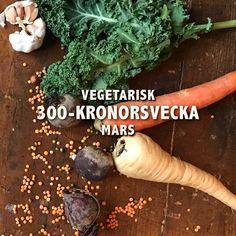 Vegetarisk 300-kronorsvecka mars - Undertian
