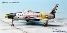 Taiwan Air Force   Republic of China (Taiwan) Air Force RF-84F No.5615   Flickr - Photo ...