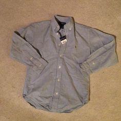 Ralp Lauren boys button shirt LT Blue sz 8 NEW Ralp Lauren boys button shirt LT Blue sz 8 NEW Ralph Lauren Shirts & Tops Button Down Shirts
