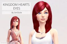 KINGDOM HEARTS EYES at SimSticle via Sims 4 Updates