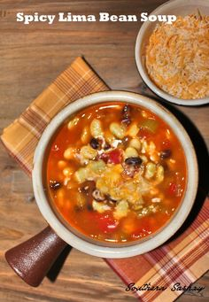 Spicy Lima Bean Soup