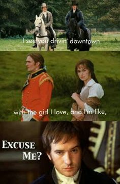Pride and Prejudice related :-)