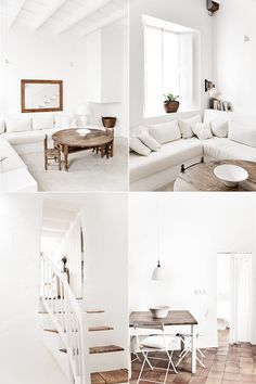 Ideas estancias blancas