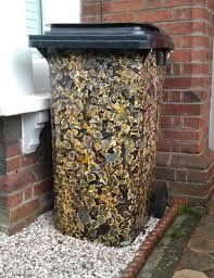 Image result for creative ideas for hiding  wheelie bin uk