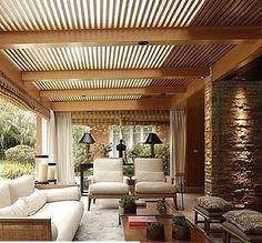 32 Super Ideas For Covered Pergola Patio Stones Covered Pergola Patio, Outdoor Pergola, Pergola Plans, Outdoor Areas, Outdoor Rooms, Backyard Patio, Outdoor Living, Outdoor Decor, Pergola Kits