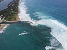 Dangerous surf eroded beaches along South Florida on Dec. 9, 10 2014.