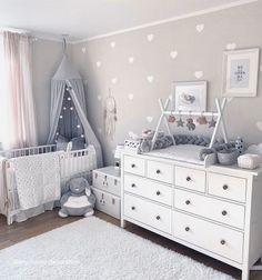 kleinkind zimmer Top Most Amazing Budget Friendly Baby Room Ideas - Wittyduck Baby Boy Rooms, Baby Bedroom, Baby Boy Nurseries, Ikea Baby Room, Room Baby, Baby Room Ideas For Girls, Disney Baby Nurseries, Small Nurseries, Baby Room Furniture