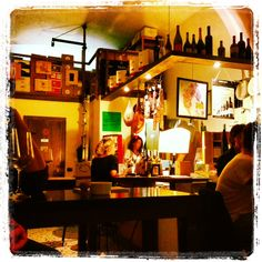 The best wine bar in Rome in 2013 called Puntarella Rossa.