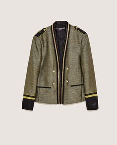CONTRASTING BLAZER-View all-BLAZERS-MAN | ZARA United States