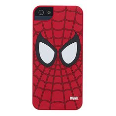 Spiderman cover for iPhone 5 with glossy finish, lightweight, resistant to scratches and wear. Maximum protection, maximum comfort! Wrap your iPhone in the web of Spider-Man.