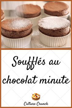Dessert Dishes, Dessert Recipes, Cooking Time, Cooking Recipes, Mousse Dessert, Chocolate Souffle, Thermomix Desserts, Delicious Deserts, Crepe Recipes