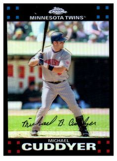 Not Many Of These Left 2007 Topps Chrome... Get Them Nowhttp://jmcollectibles.org/products/2007-topps-chrome-michael-cuddyer-refractor-minnesota-twins?utm_campaign=social_autopilot&utm_source=pin&utm_medium=pin