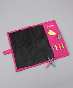 personalized chalkboard place mat complete with 12 pieces of Crayola chalk and a sponge eraser, making cleanup a snap. Includes place mat, 12 Crayola chalk pieces and sponge eraser. Would be great for travel! Toddler Toys, Kids Toys, Toddler Girl, Baby Toys, Baby Crafts, Crafts For Kids, Crayola Chalk, Toy Store, Cool Kids