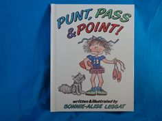 vintage 1992 Punt, Pass & Point! book by Bonnie-Alise Leggat by TheVintageKeepers on Etsy