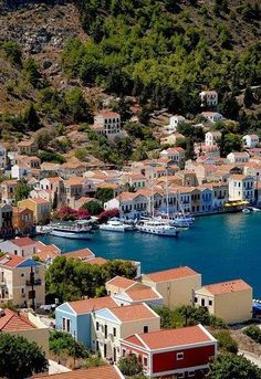 Kastelorizo island, Greece.   Go to www.YourTravelVideos.com or just click on photo for home videos and much more on sites like this.