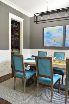 All the details on our showhouse dining room