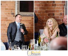 Groom speech during his wedding at Carriage Hall
