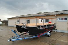 DIY Boat Kits By PEREBO Allow You To Compile Pontoon Boats And Mobile Platforms Simply Select A Kit Configure It Youre Ready