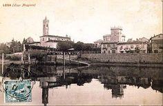 #Lesa, l'imbarcadero a inizio Novecento ( #Novara #Piedmont #Italy ) #vintage