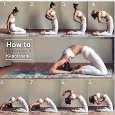 Liebe und Yoga Love and yoga Wie Kapotasana. - Liebe und Yoga Love and yoga Wie Kapotasana # Yoga Ziele Source by - Cardio Yoga, Pilates Workout, Dancer Workout, Dance Exercise, Pilates Yoga, Yoga Fitness, Fitness Workouts, Physical Fitness, Fitness Goals