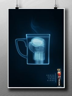 NESCAFE X-Ray on Behance