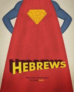 Hebrews - the best Bible themed wall art ever!