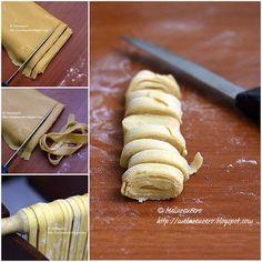 tagliatelle con farina di ceci