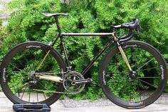 Colnago Master with Campy Super Record 11-speed groupset and Lighweight wheels. The Holy Trinity-->