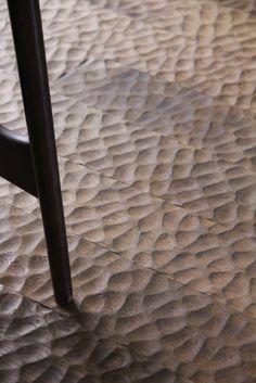 hand chiseled flooring - Kyoto cafe