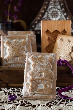 Honey & Ginger Windmill Cookies - Speculaas Cookies of Holland at Cooking Melangery