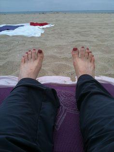 HAIKU_yoga/beach~i liked the yoga beach class at hurricane & the sand so much i wrote & published a haiku