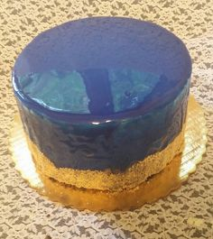 Through the Looking Glass by Lewis Carroll. Mirror cake made by Patsy's Sweet Shoppe in West Allis.